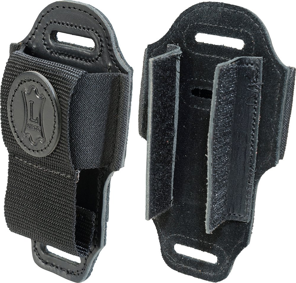 Levys Leathers MM4 Black Leather Wireless Transmitter Holder MM4-LEVYS