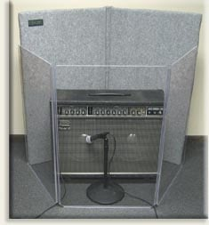 2' x 3' 3-Section Clear Acoustic Isolation Panel