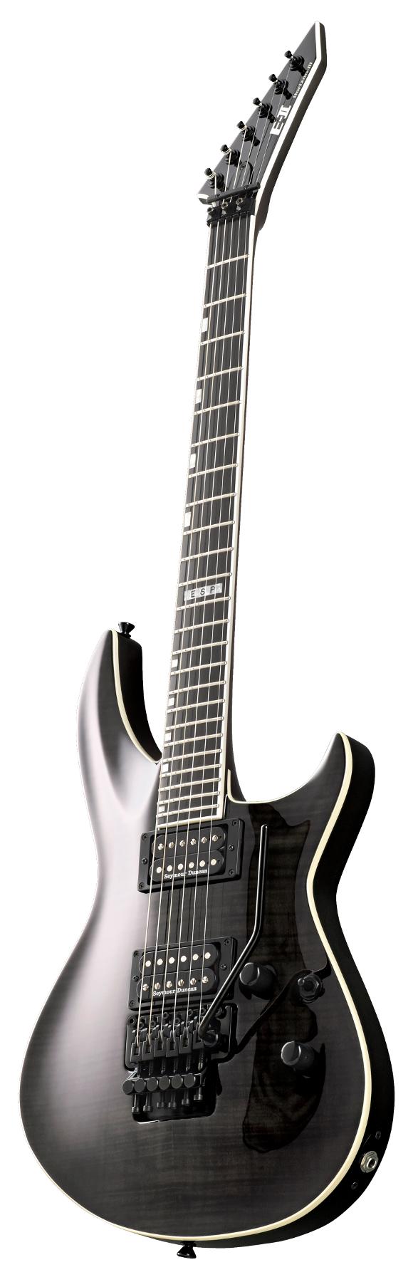 Electric Guitar, See-Thru Black