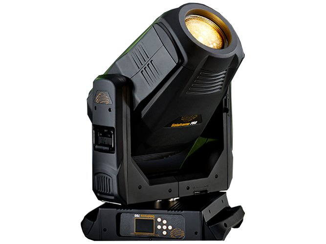 270 Watt LED Moving Spot Fixture with Case