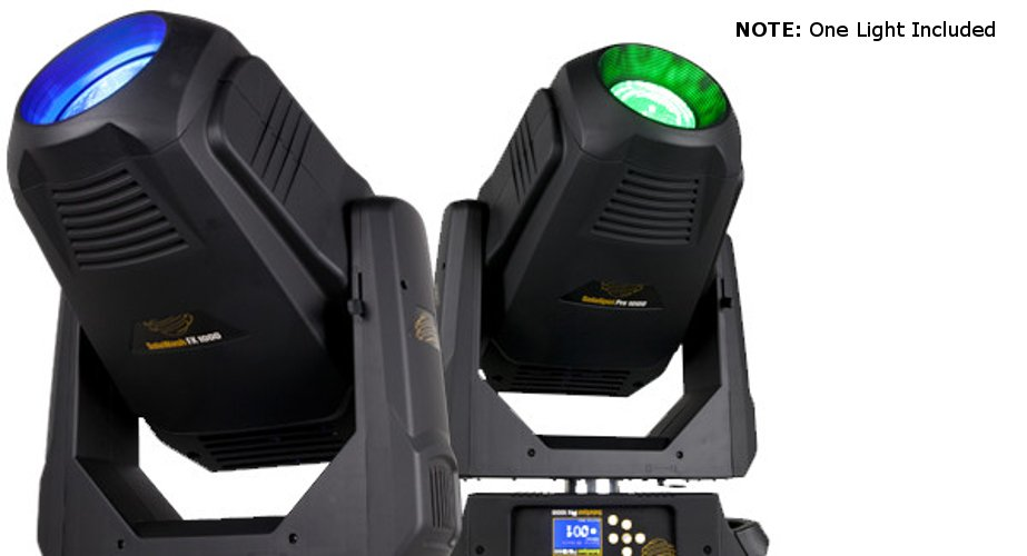 440 Watt LED Moving Spot Fixture with Case