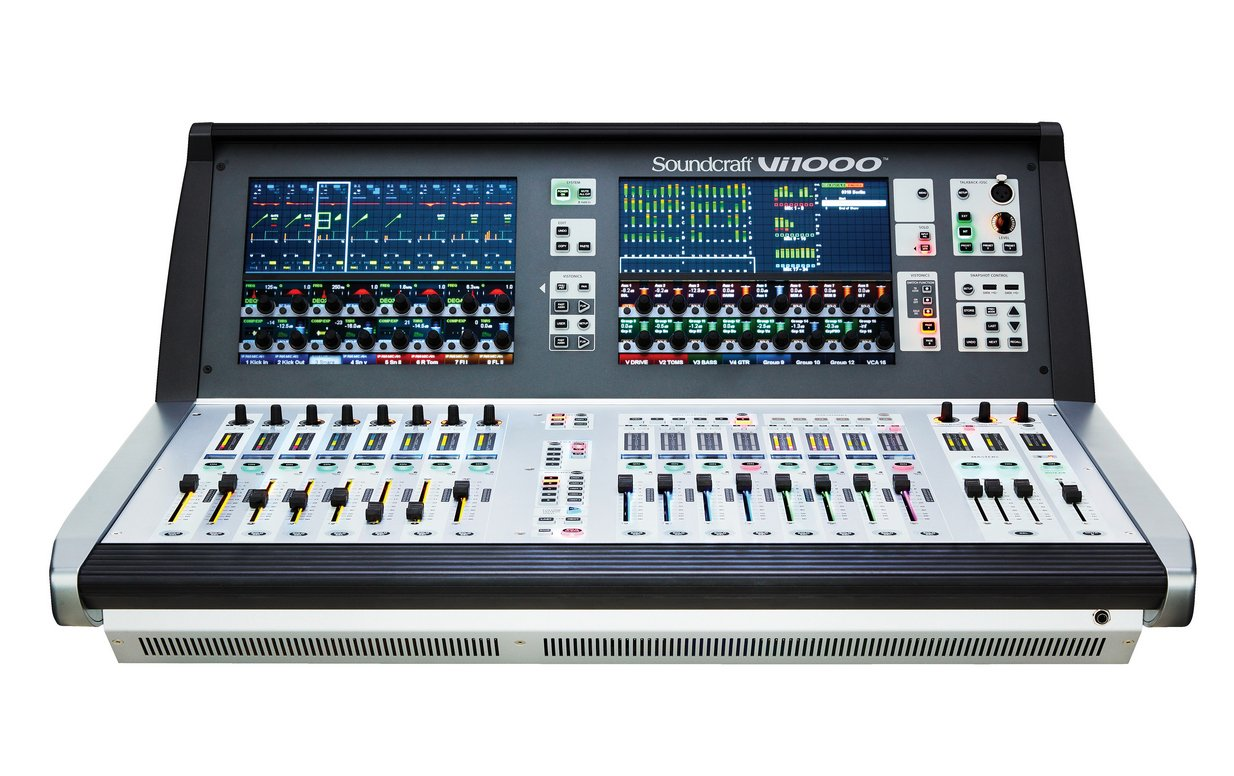 Compact, 96 Channel Digital Mixer