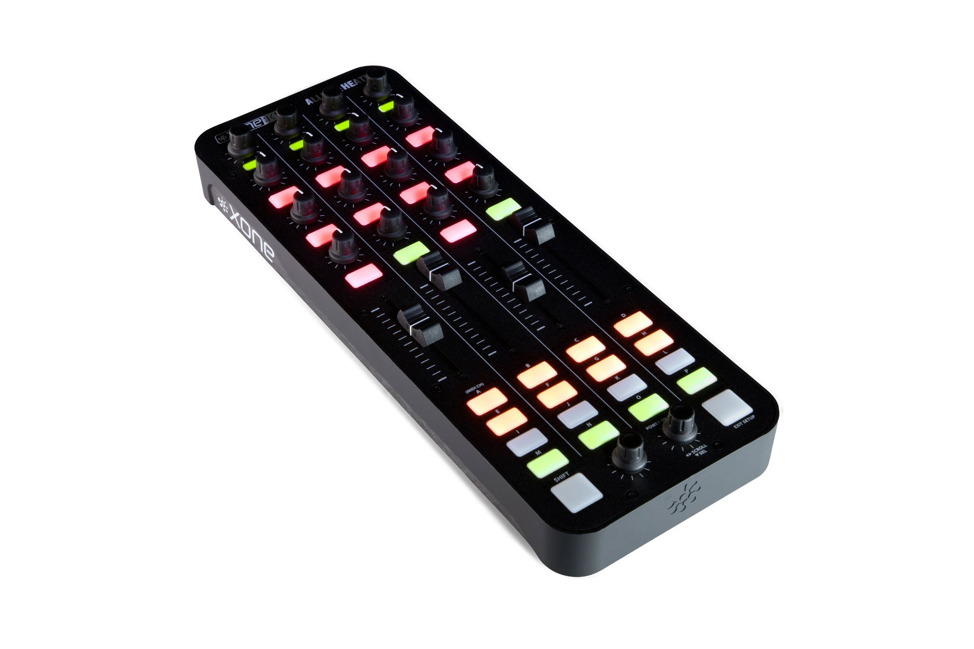 4-Channel DJ Mixer, DJ MIDI Controller Package