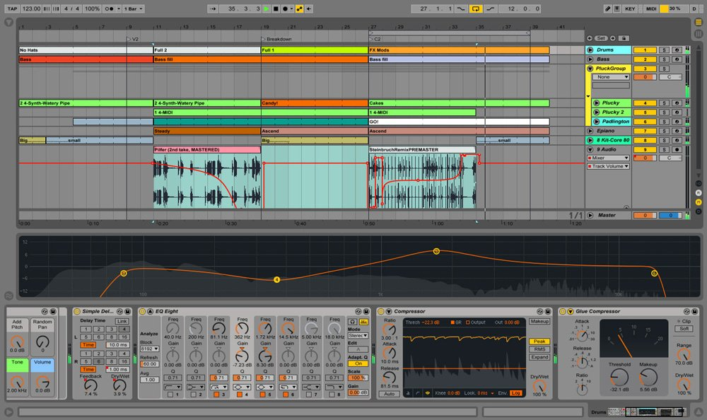 Live 9 Standard with included Ableton Equipment Bag