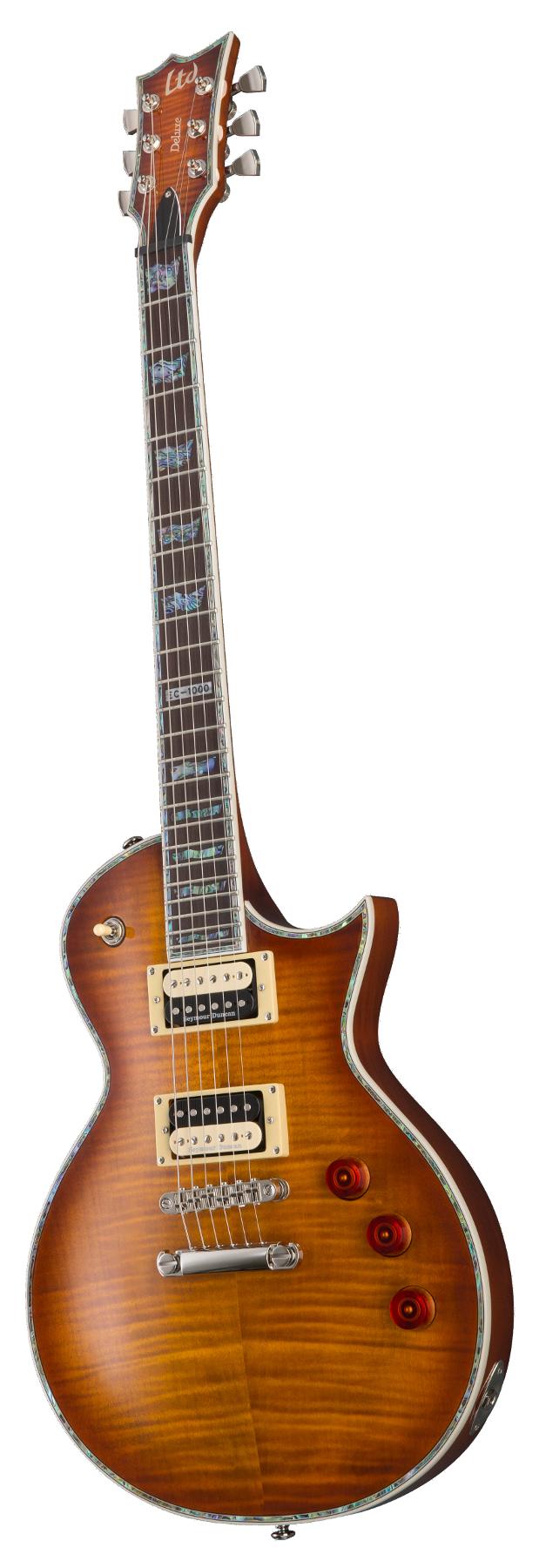 Electric Guitar, Amber Sunburst