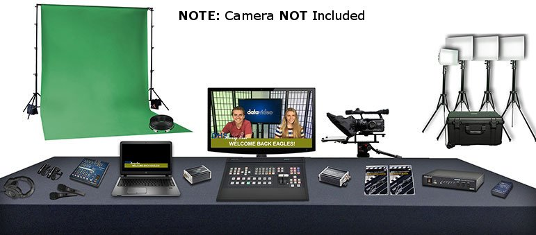 Educator's Video Production Bundle with No Cameras