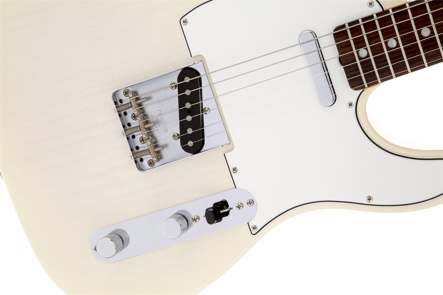Electric Guitar, Aged White Blonde