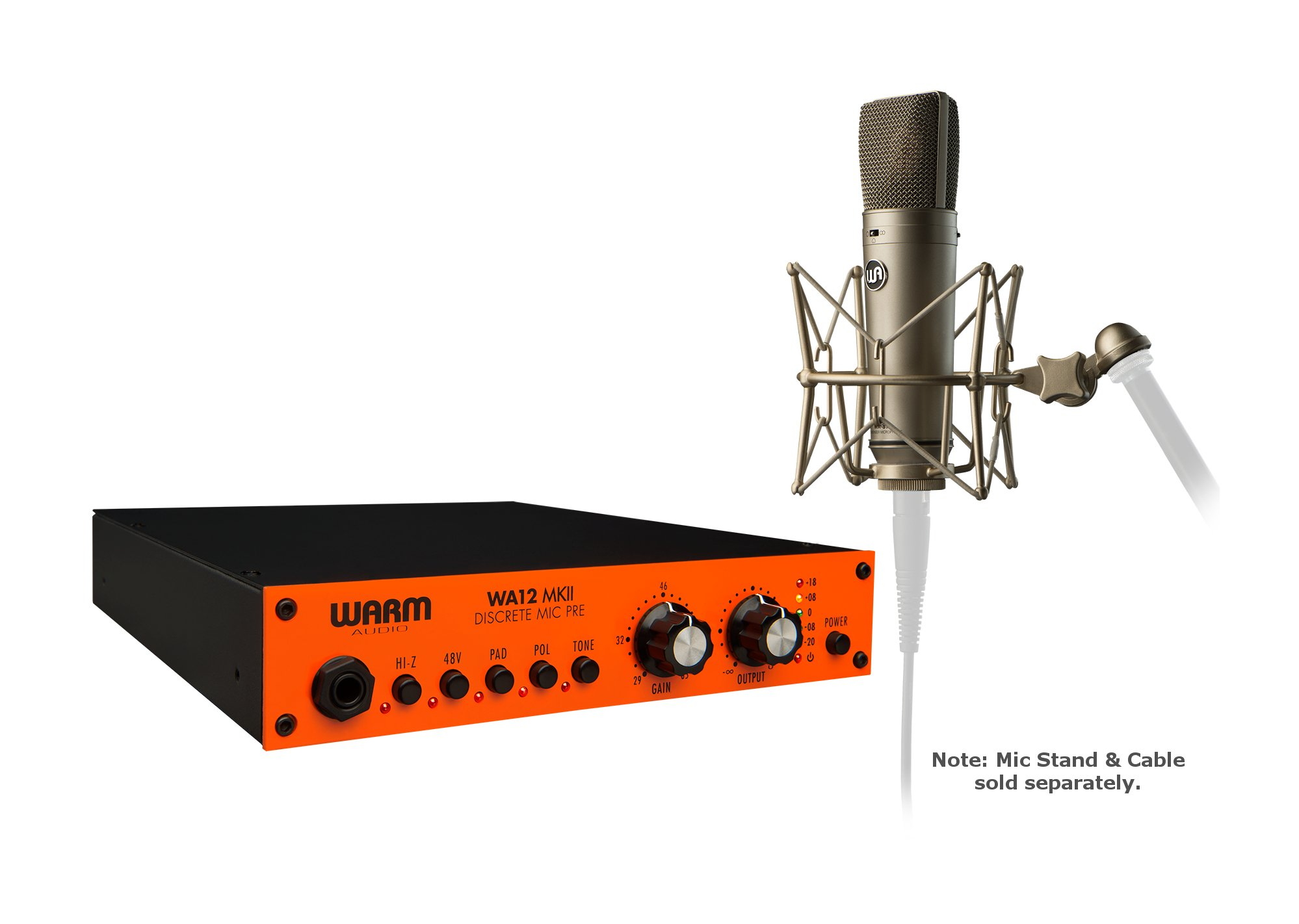 Exclusive Microphone Preamp/Condenser Microphone Package