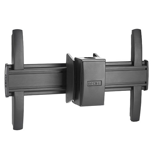 "FUSION Large Flat Panel Ceiling Mount for 32""-60"" Displays in Black"