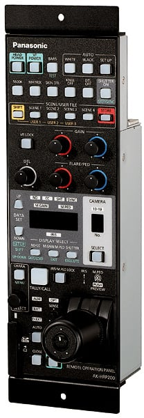 Camera Control Panel for AK-HC3800