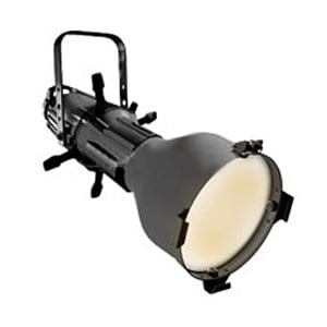 ETC/Elec Theatre Controls 405-A Source Four 5° Ellipsoidal in Black with Edison Connector S4-5-A