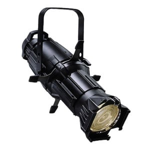 Source Four 50° Ellipsoidal in Black with Stage Pin Connector