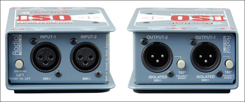 Radial Twin Isolator