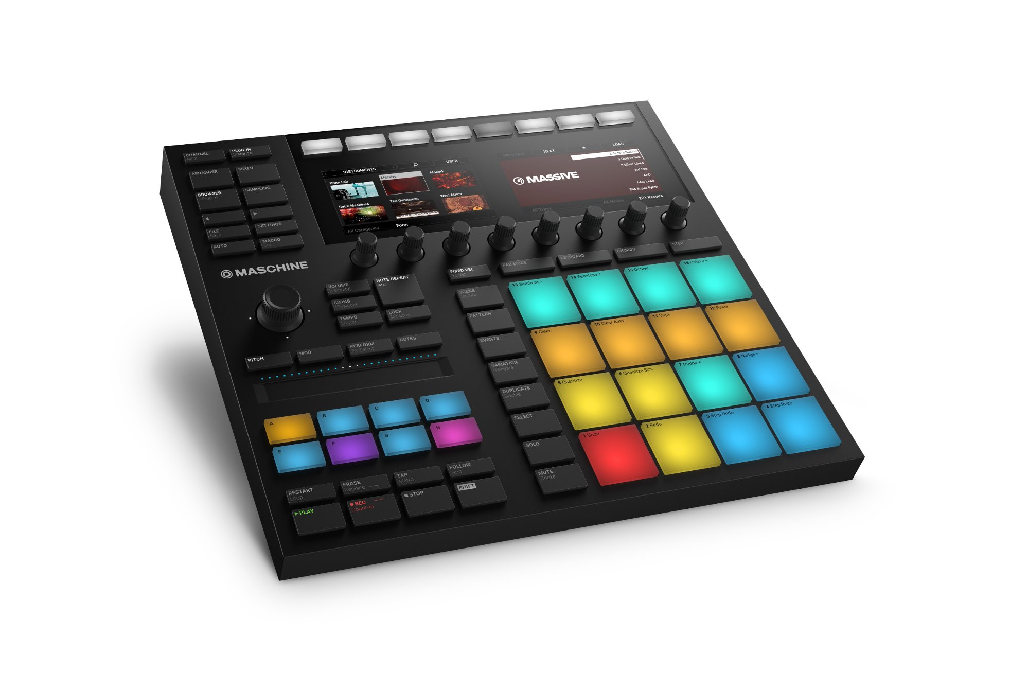 native instruments maschine mk3 software groove box full compass. Black Bedroom Furniture Sets. Home Design Ideas