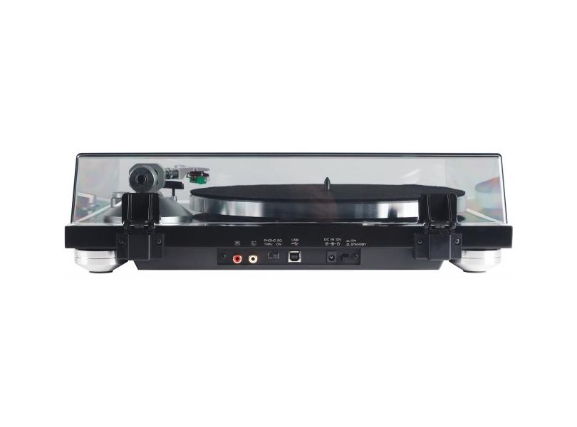 Stereo Turntable with Analog Audio & USB I/O