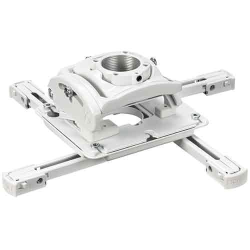 RPA Elite Universal Projector Mount with Keyed Locking, White