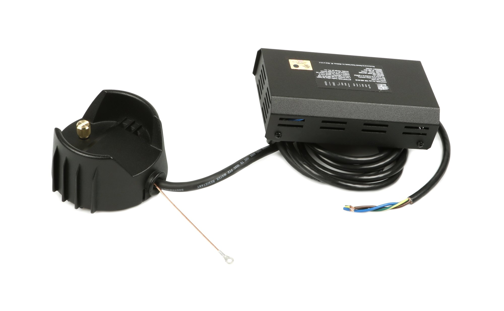 Source Four HID Black Burner Assembly (No Connector)