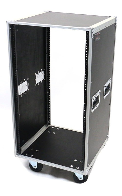 20RU Deluxe Studio Rack with Handles and Casters