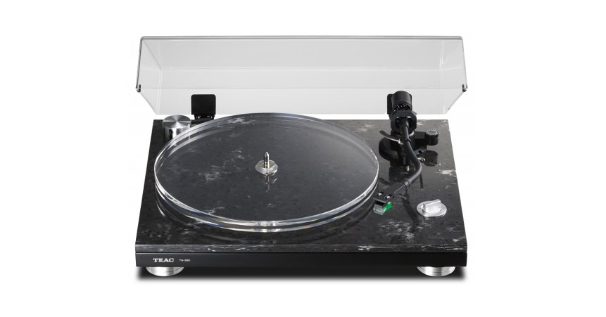 2-Speed Turntable with Cartridge, Belt Driven
