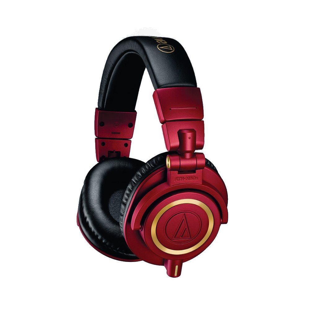 Professional Monitor Headphones - Limited Edition Red/Gold