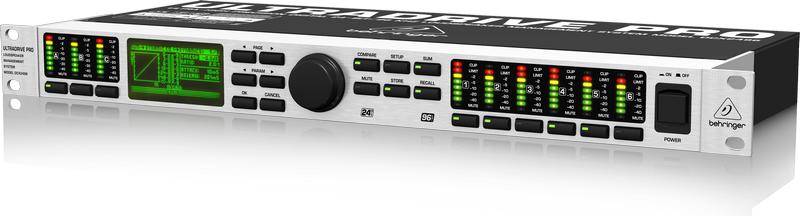 Loudspeaker Management System, 24-bit/96kHz
