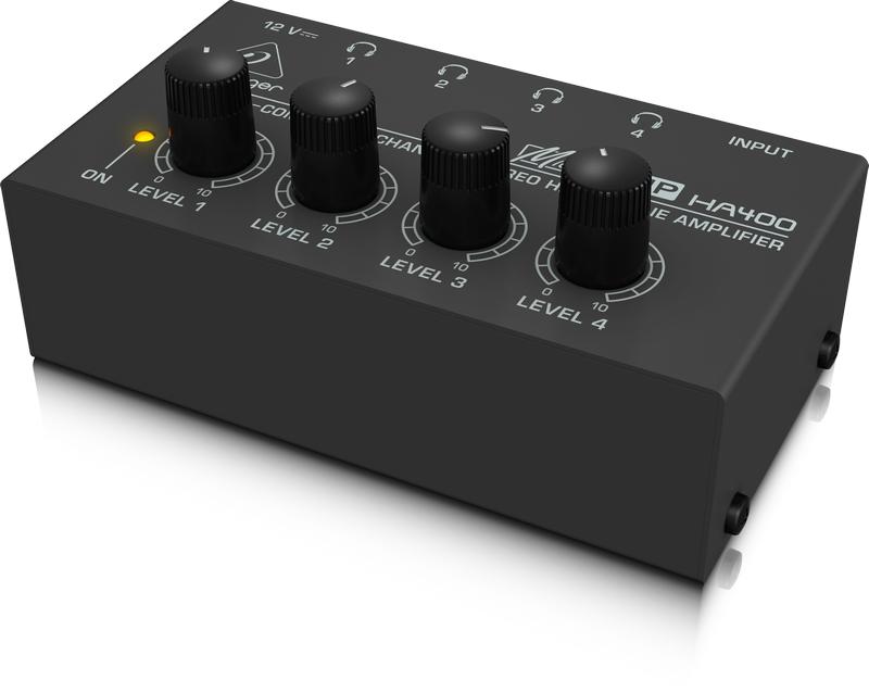 4 Channel headphone amplifier