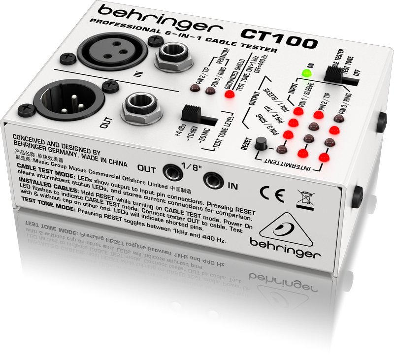 Behringer CT100 Cable Tester CT100