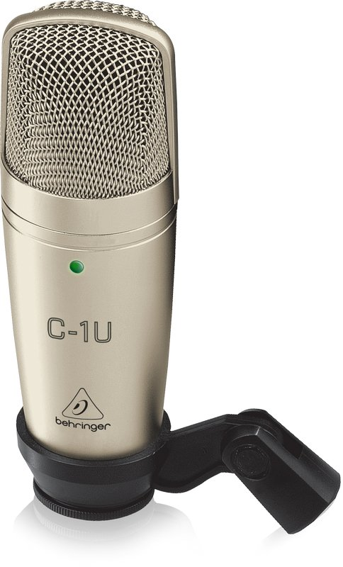 USB Large Diaphragm Cardioid Condenser Microphone