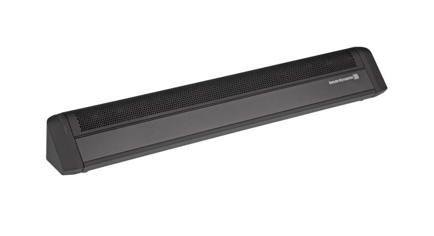 Horizontal Array Podium, Tele/Video Conferencing, Tabletop Microphone, Black