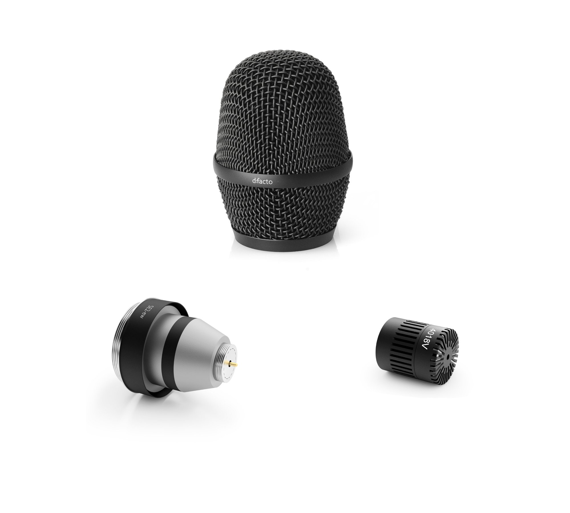 d:facto™ Super Cardioid Vocal Mic Head with Sennheiser Wireless Adapter
