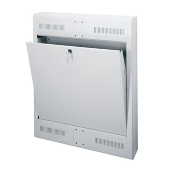 3-Space Surface-Mount Tilt-Out Wall Rack