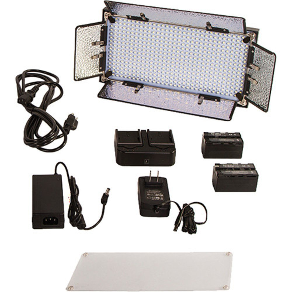 Interview Bi-Color Kit with 2 x IB508-v2 and 1 x iLED312-v2 LED Fixtures