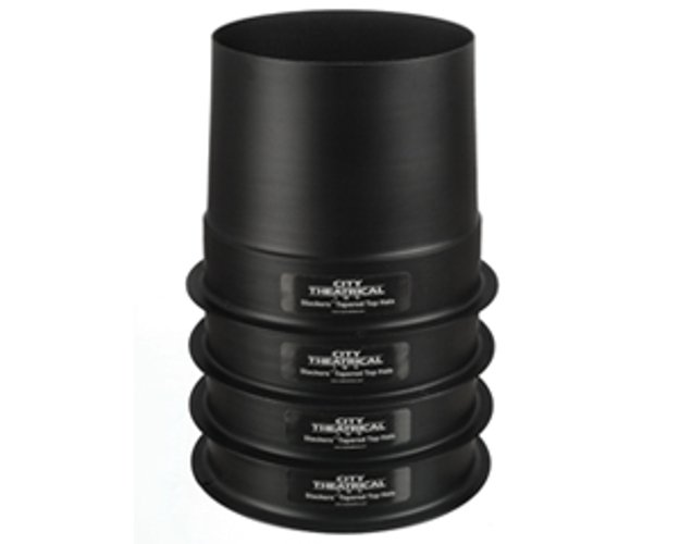 """6 1/4"""" Short Full Top Hat Stackers"""