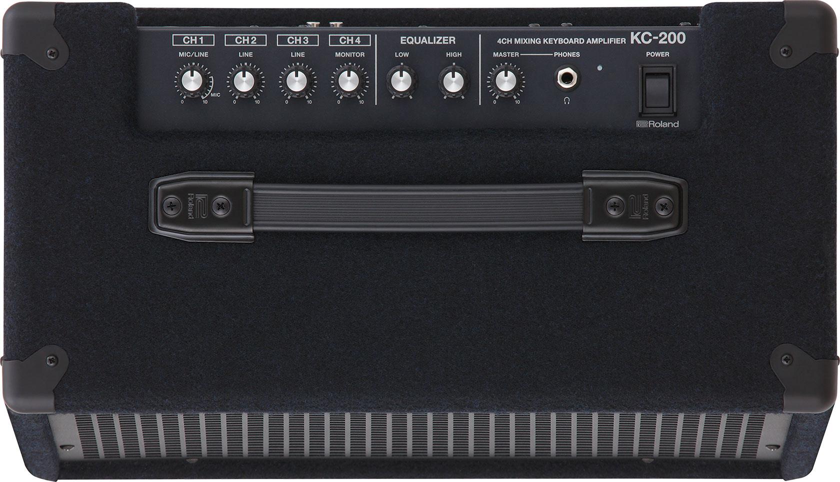 100W 4-Ch Mixing Keyboard Amplifier