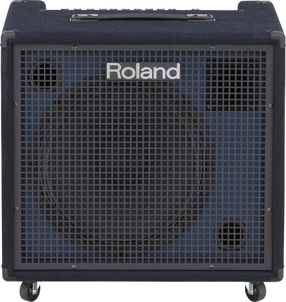 200w Stereo Mixing Keyboard Amplifier By Roland Kc 600 Full 600w Audio
