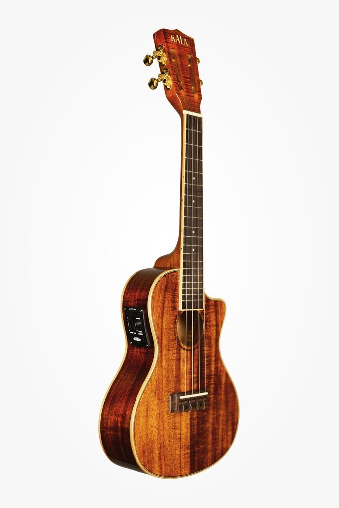 kala brand music co ka kcge c hawaiian koa concert cutaway ukulele with eq full compass. Black Bedroom Furniture Sets. Home Design Ideas