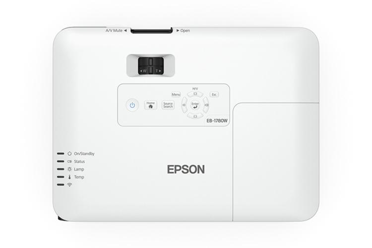 Epson PowerLite 1780W 3000lmn WXGA Portable Projector POWERLITE-1780W