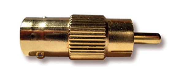 BNC (Female) to RCA (Male) Adapter
