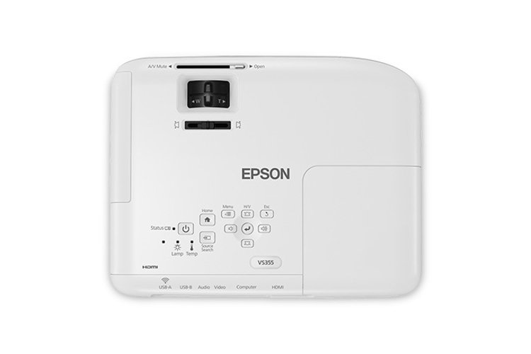 Epson VS355  WXGA 3300 Lumens Business Projector VS355