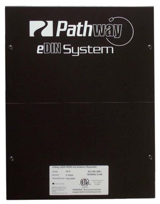 4-Way eDIN DMX/RDM Installation Repeater