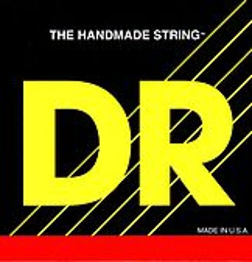 DR Strings TMH6-30 Medium Long Neck Stainless Steel 6-String Electric Bass Strings TMH6-30