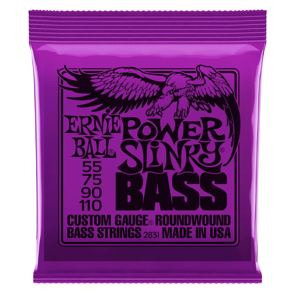 ".055-.110"" Power Slinky Electric Bass Strings"