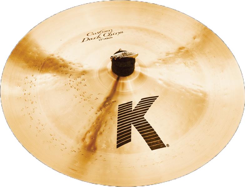 "Zildjian K0970  17"" K Custom Dark China Cymbal K0970"