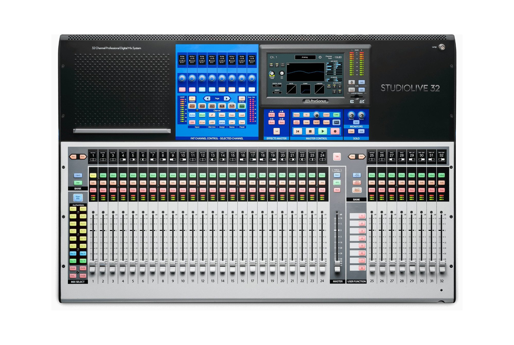 40-Input Digital Console/Recorder with 33 Motorized Faders
