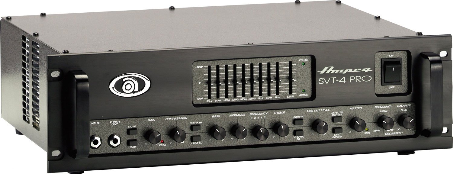 300W Hybrid Bass Amplifier Head