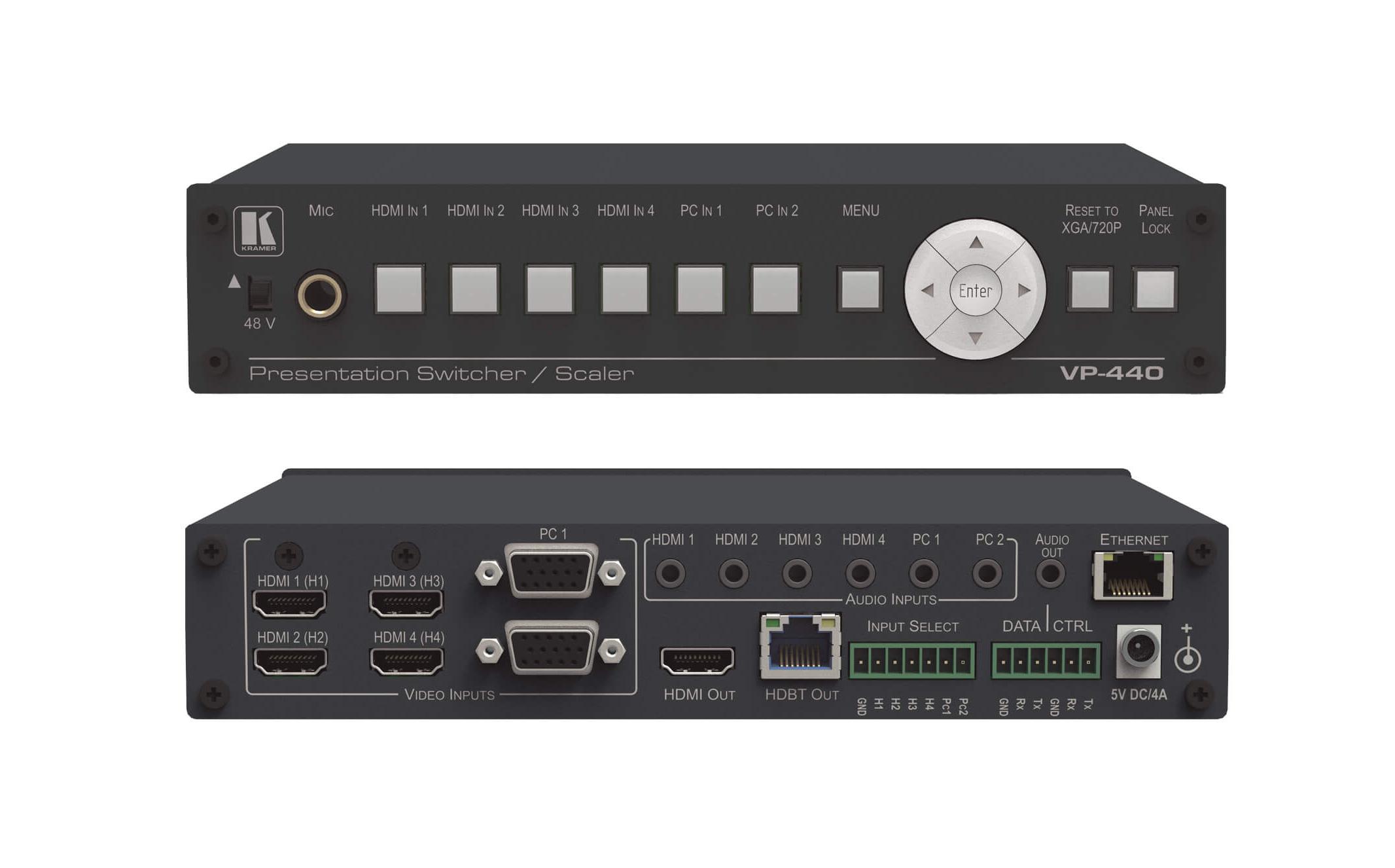 6 Input HDMI & VGA to HDMI