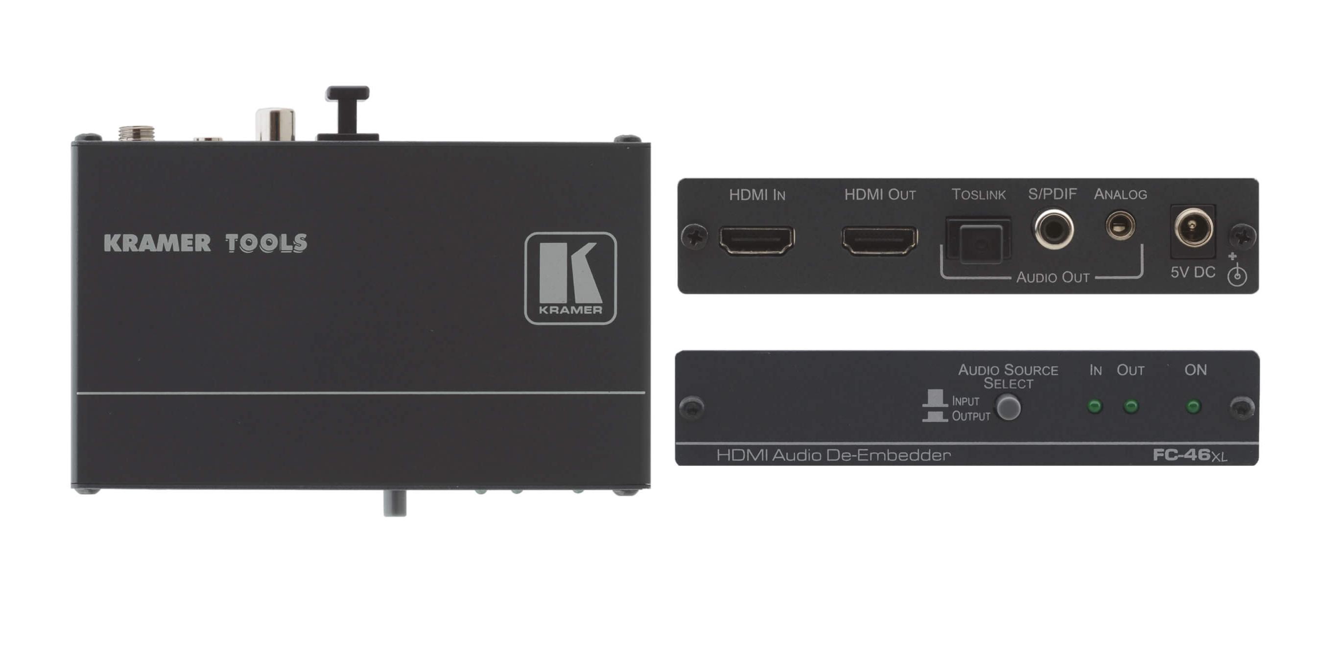 HDMI Audio De-Embedder