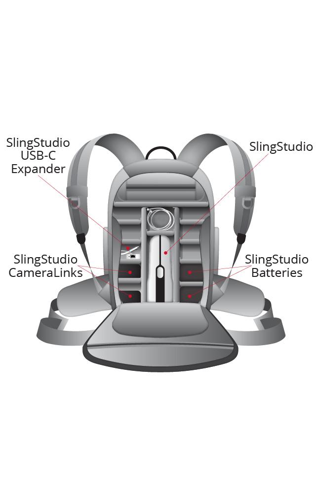 SlingStudio SLINSTUDIO-BAG  Backpack SLINSTUDIO-BAG