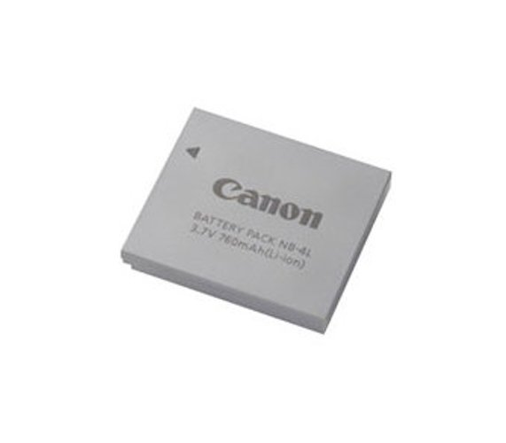 Canon NB4L Lithium Ion Rechargable Battery Pack NB4L
