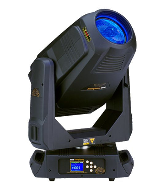 440 Watt LED Moving Hybrid Fixture with Case